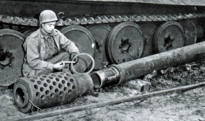 Орудие GW-Tiger - Фотография