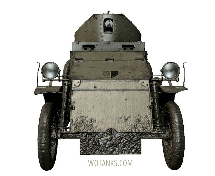 Танк к 100 летию Lanchester Armoured Car