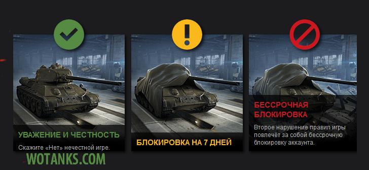 Запрещенные моды для World of Tanks. Бан за использование запрещенных модификаций.