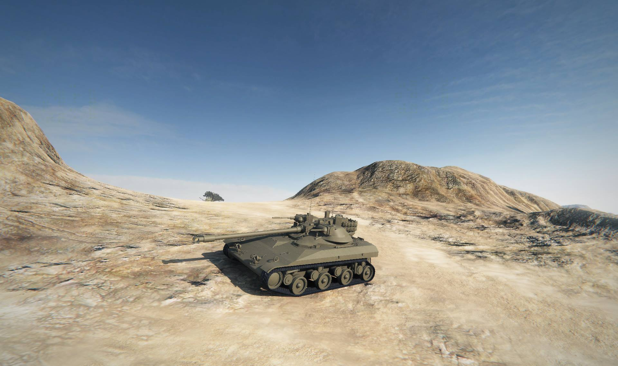 Легкий премиум танк