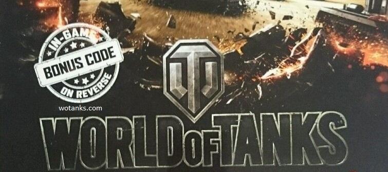 Бонус код и инвайт код для World of Tanks