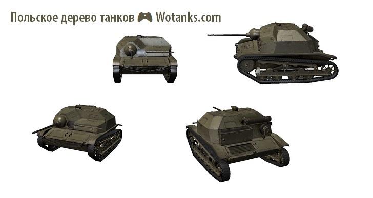 Польская ветка танков