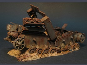 destroyed-Pz-IV-tank-model-10