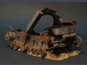 destroyed-Pz-IV-tank-model-11