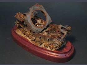 destroyed-Pz-IV-tank-model-8