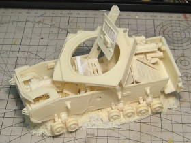 destroyed-Pz-IV-tank-model