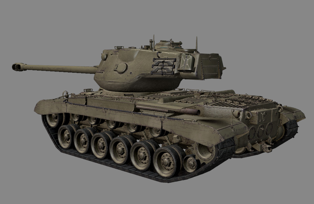 M46 Patton HD