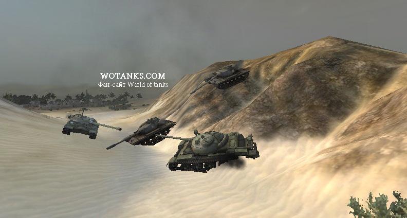 Тест физики Мира танков