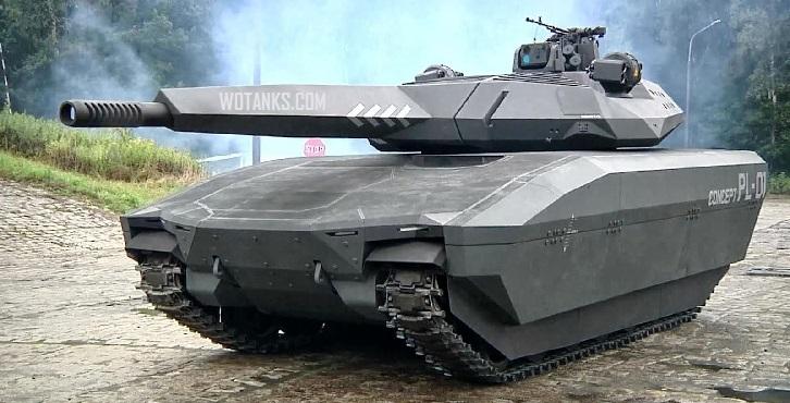 Невидимый танк PL-01