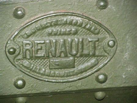 Клеймо Renault