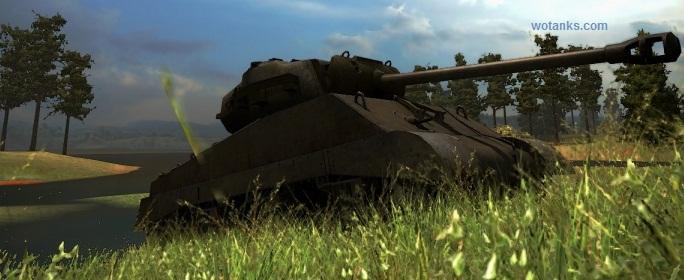 Раш на M4A3E8 Шерман