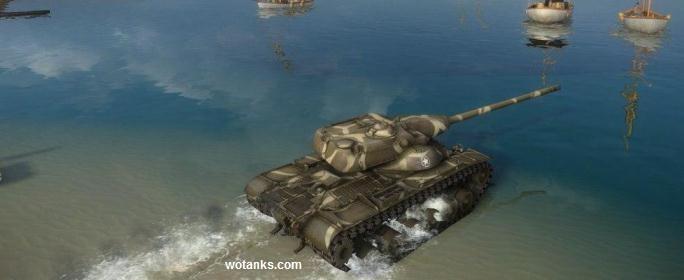 T54E1 - Американский средний танк с барабаном заряжания