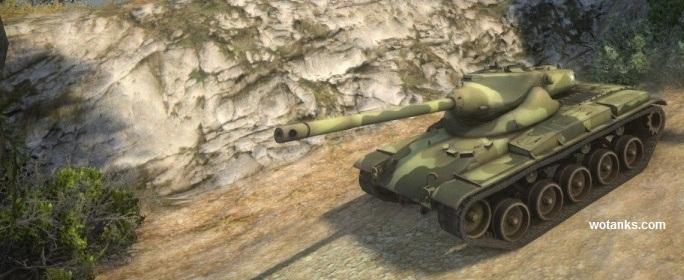 T69 - Американский средний танк с барабаном заряжания