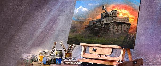 Мультфильм про Мир танков