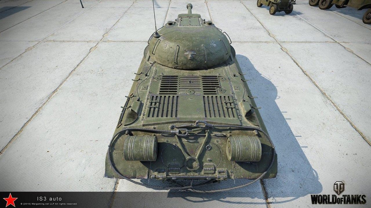Рендер танка ИС-3