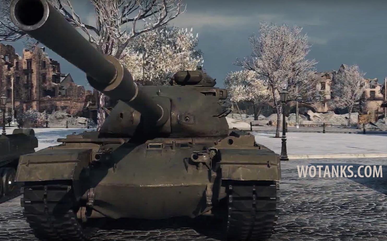 Американский танк M48A2 в патче 9.10