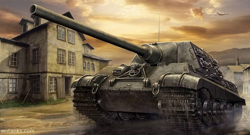 Jagdtiger список изменений ТТХ в World of Tanks