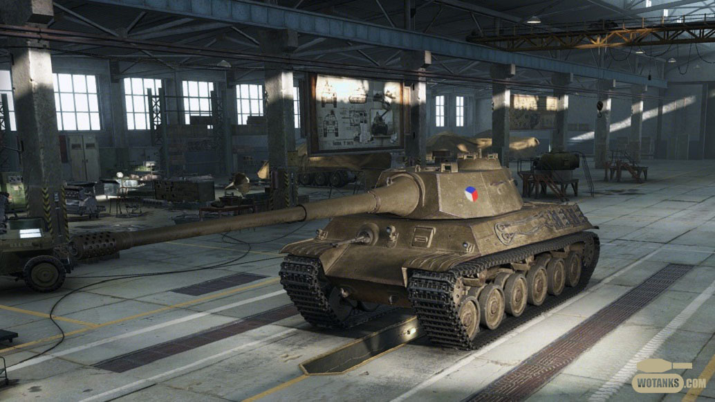 Средний танк 8 уровня TVP VTU Koncept