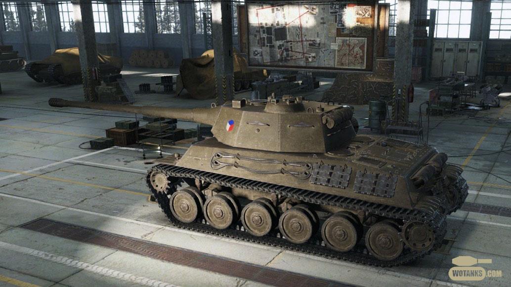 Основной боевой танк Чехословакии TVP VTU Koncept