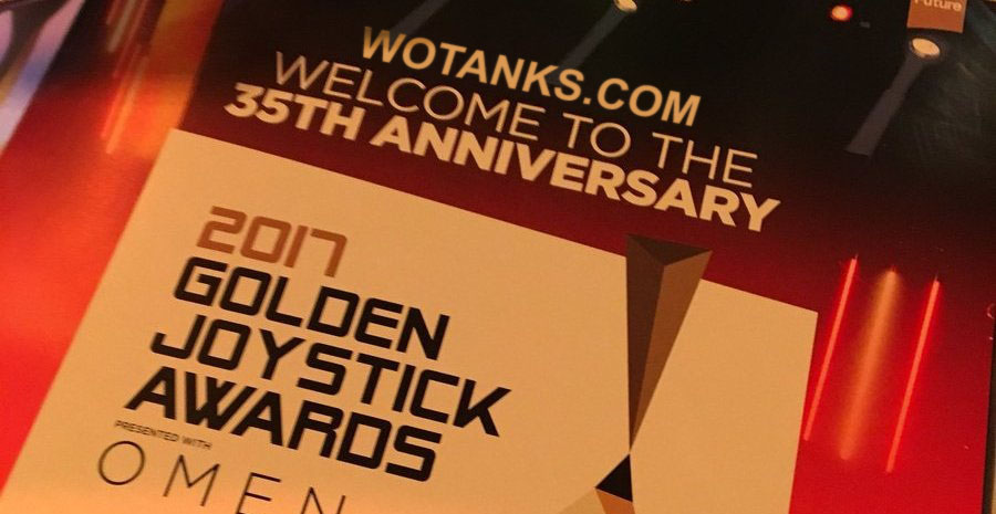 World of Tanks поулчил Golden Joystick