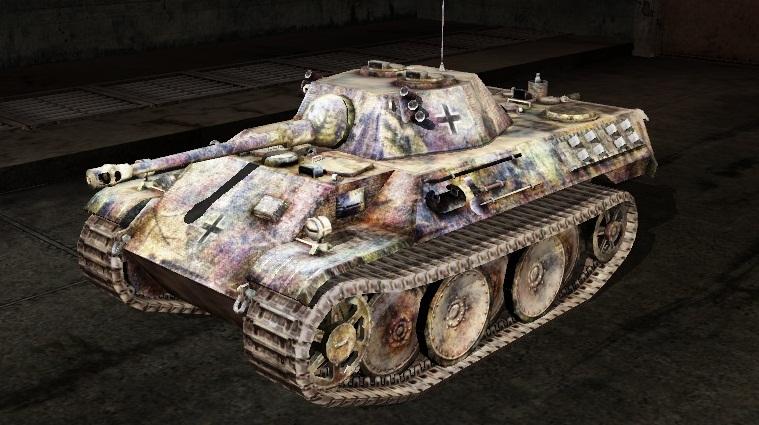 Шкурка для vk1602 Leopard - Арктическая
