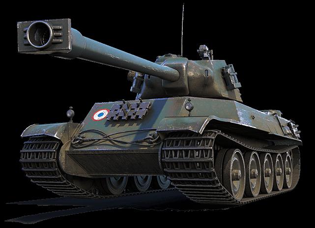 Характеристики премиум танка AMX M4 mle. 49