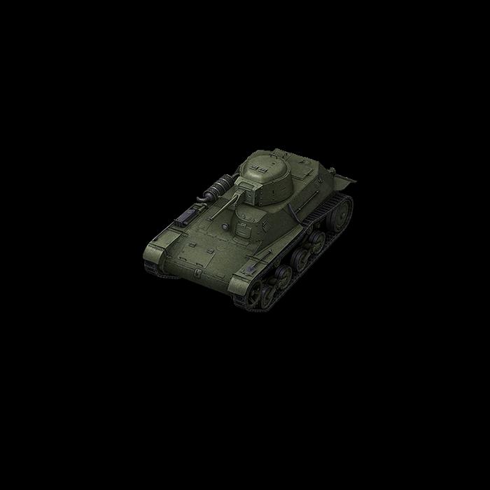 Прем танк 2 уровня Type 97 Te-Ke