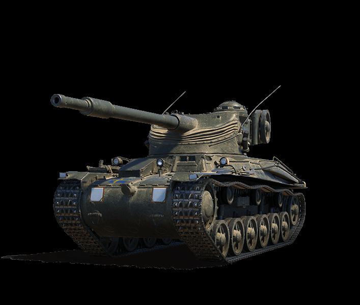 Шведский премиум танк в World of Tanks