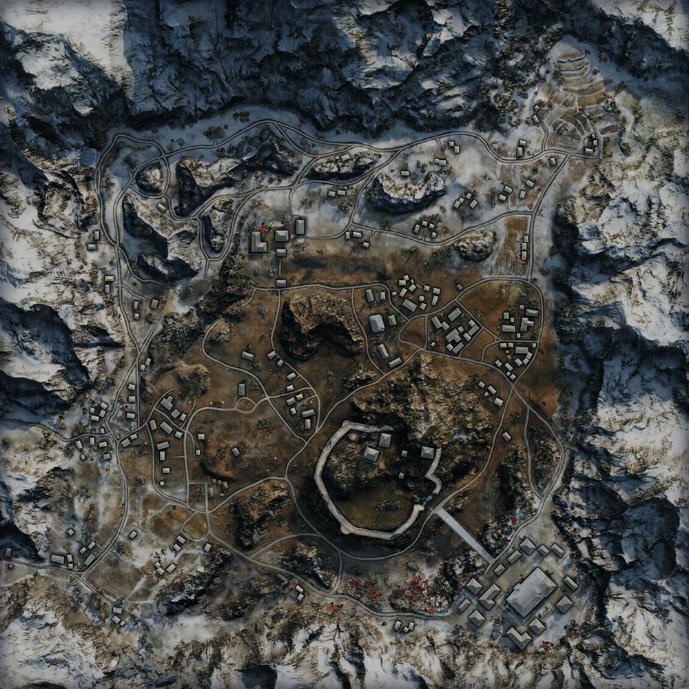 Карта Священная долина в World of Tanks