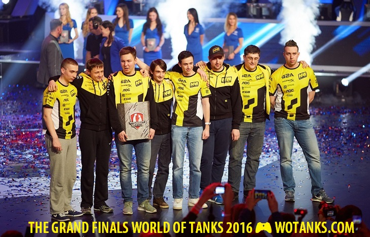 The Grand Finals 2016 World of Tanks