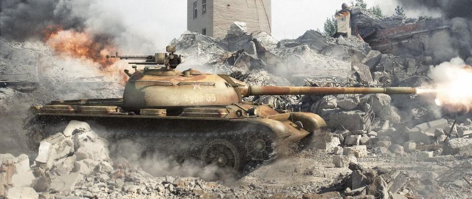 Type-59 стреляет