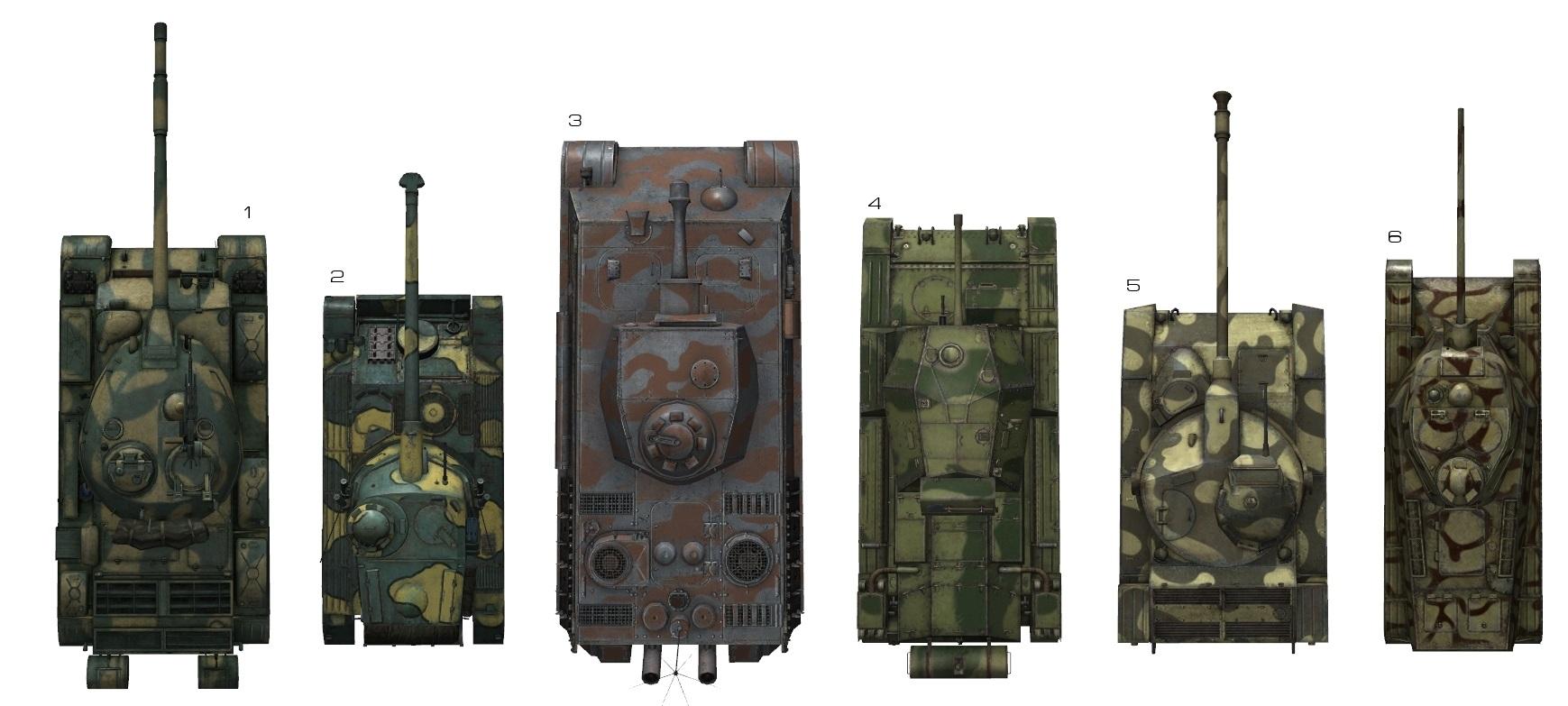 Как слетают башни у танков